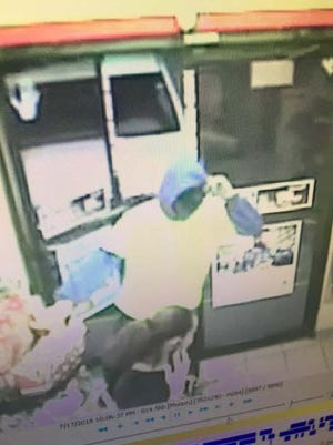 This unknown male suspect attempted to rob the Circle K at 780 Pondella Rd. in North Fort Myers on Tuesday, July 17, 2018.