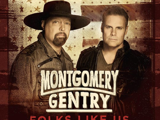 "Montgomery Gentry's latest album, ""Folks Like Us,"" will be released Tuesday."