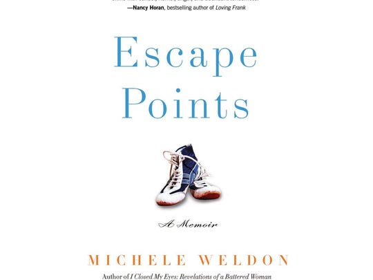 """Michele Weldon chronicles her life as a single parent while raising three competitive wrestling sons, battling breast cancer and working as a journalist in her new book """"Escape Points."""""""