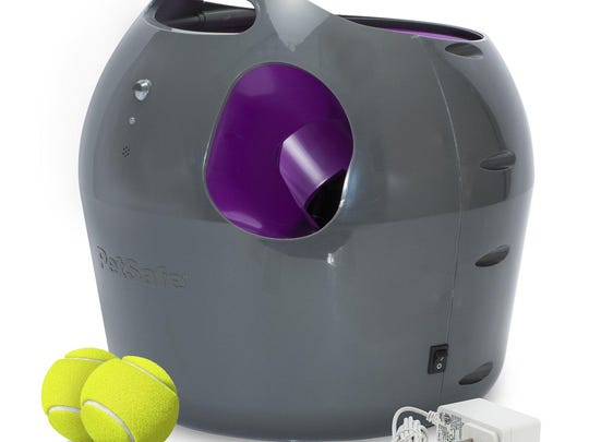 Designed for indoor and outdoor use, the PetSafe Automatic Ball Launcher can play fetch with your dog.