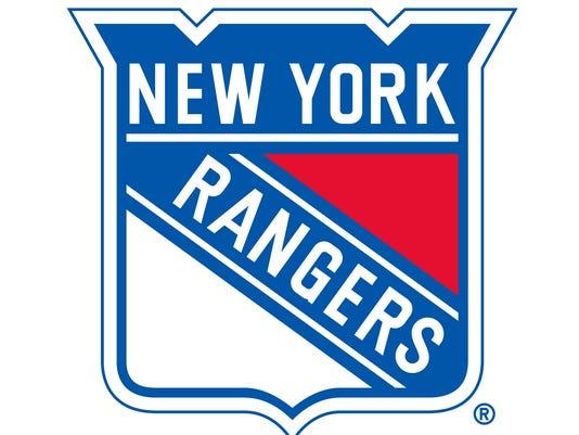 webart sports New York Rangers logo ice hockey