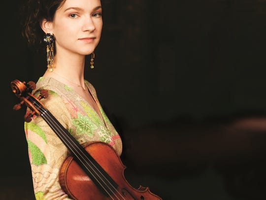 Violinist Hilary Hahn is one of the superstars of the classical world today.