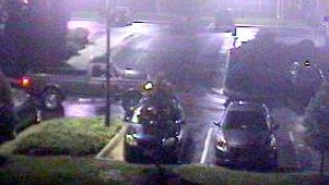Pictured is one of two pickups that the Staunton Police Department is hoping to identify in connection with two motorcycles stolen last week from the Frontier Ridge Apartments.