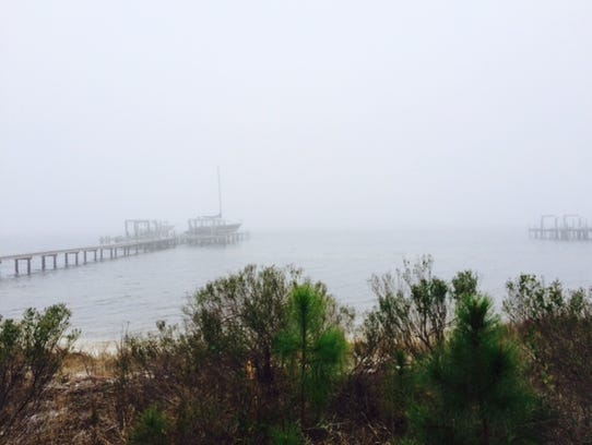Fog continues to hamper search efforts Thursday morning