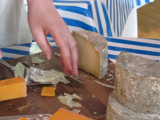 Navieve Fromagerie in Wausau offers cheese samples,
