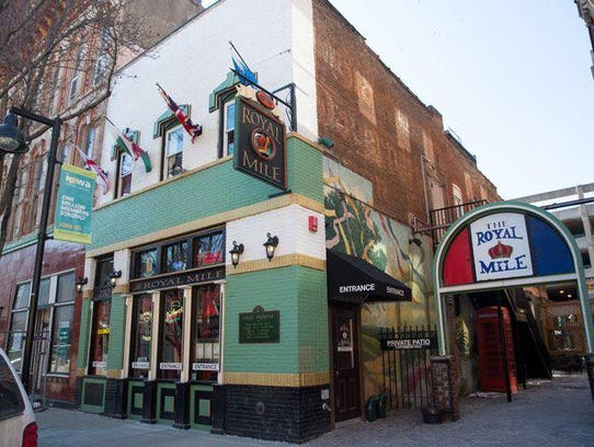 The Royal Mile is a British pub in downtown Des Moines