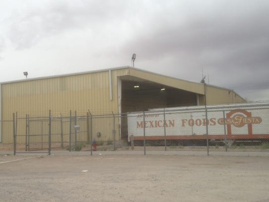 A truck trailer for one of Bruce Foods' recently sold
