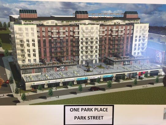 A rendering of Alma Realty's development slated to