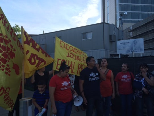 Hospitality workers speak out against unfair wages