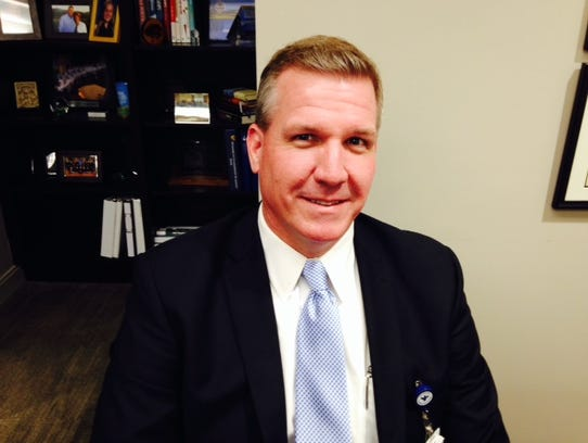 Craig McCoy, CEO of Bon Secours St. Francis Health