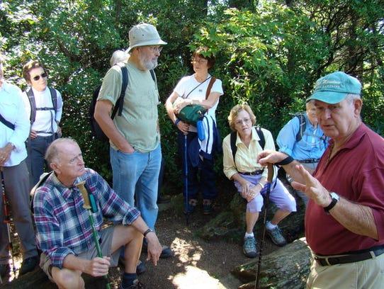 Hikers in last year's Ridgecrest Kitsuma hike learned