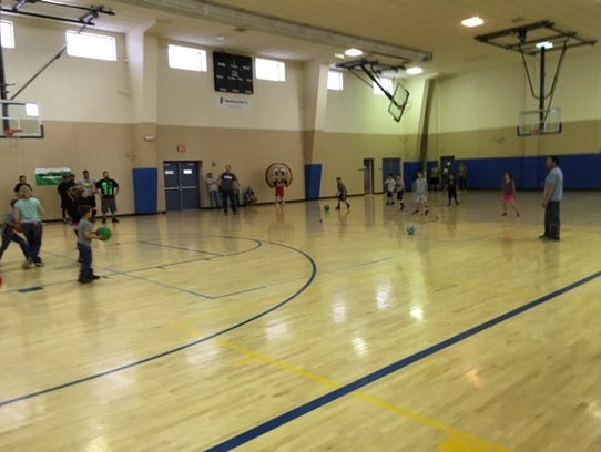 Kids' teams are free at Ecoservants' dodgeball tournament.
