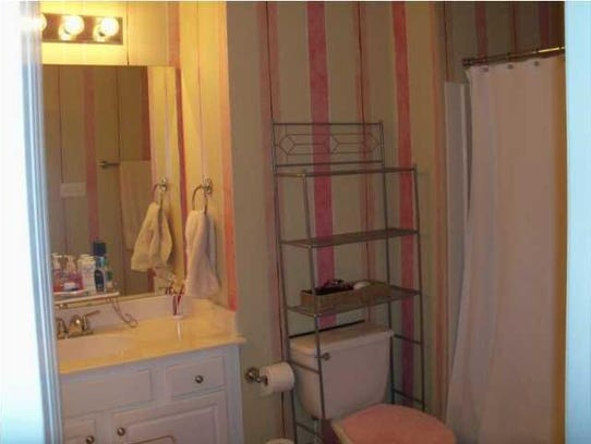 The master bath before it was redone by Monique Breaux