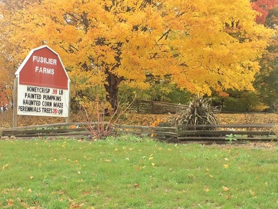 The Fusilier Family Farm is located in Sharon Township,