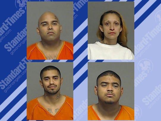 Top left, Fernando Lavaris Jr.; Eliza Victoria Losoya;