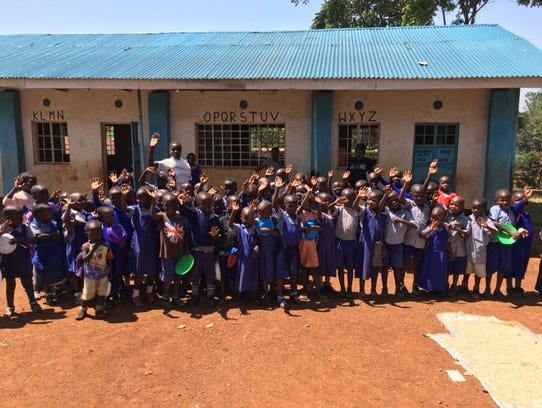 Money raised during Karibu Kenya Saturday supports the children in the village of Dago, Kenya.