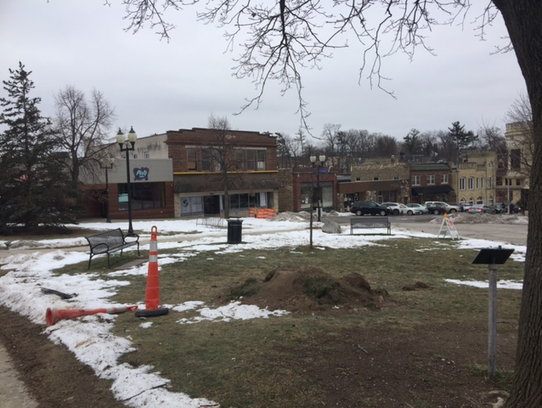 Harwood Avenue will be completed and the park will