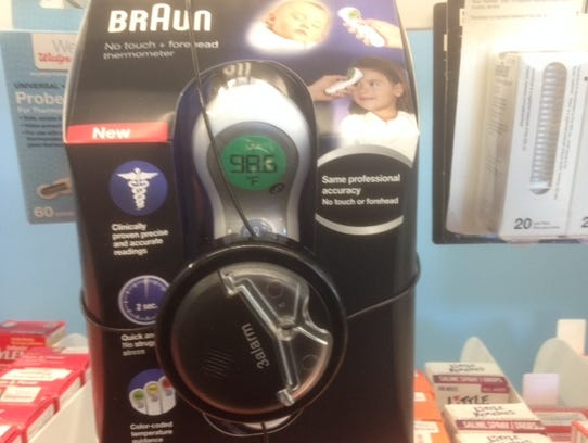 Helen of Troy's sales of Braun-branded thermometers
