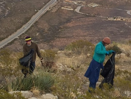 Melinda and Ron Hall are two BLM volunteers that travel