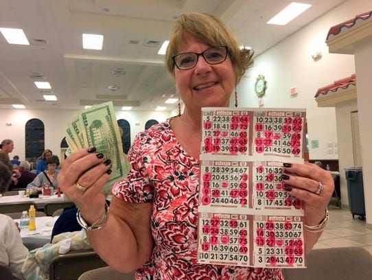 Knights of Columbus jackpot winner Joanne Odato-Staeb