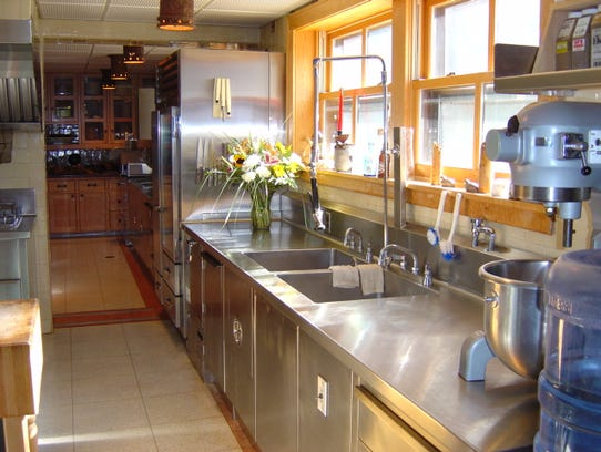 Granot Loma's kitchen was remodeled after the kitchen