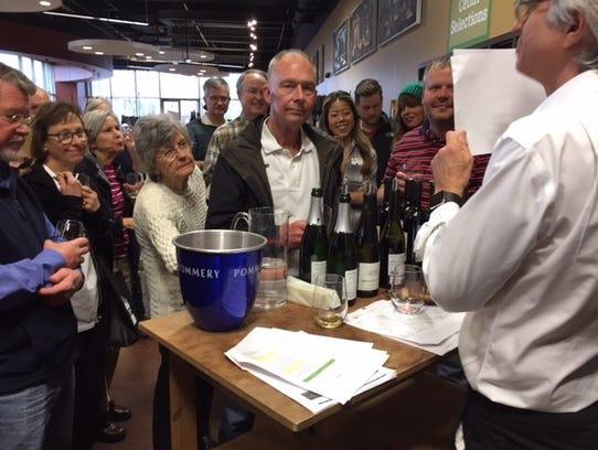 Free weekly wine tastings at The Wine Chap in Belle
