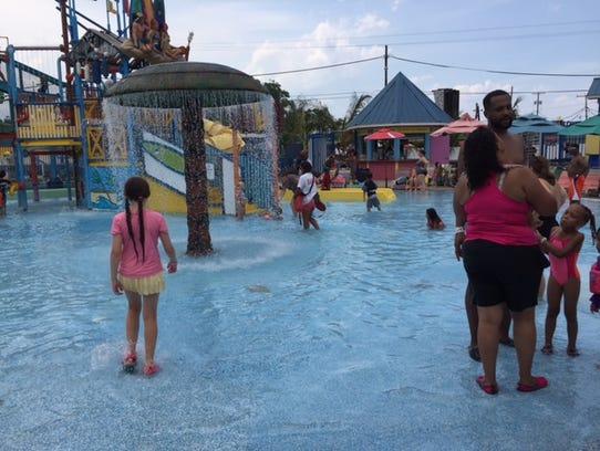Cool off at Keansburg Amusement Park's Runaway Rapids.