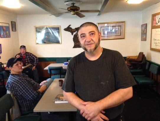 Ted Kosta of  The Corner Cafe