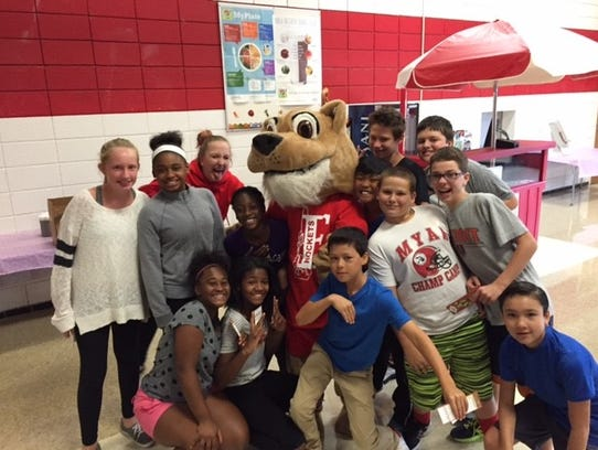 East Middle School students celebrated their School