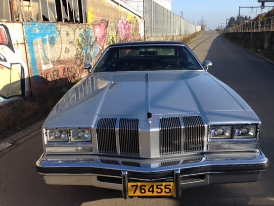 Johan Lindberg's 1976 Cutlass Supreme Brougham was