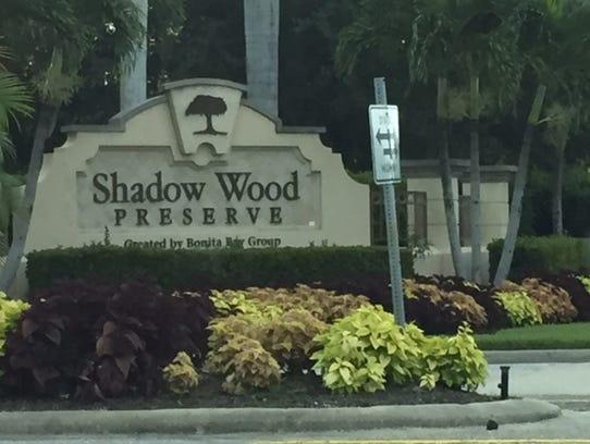 Shadow Wood  Preserve in San Carlos Park was the scene