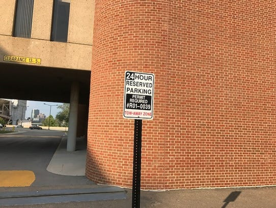 Even the president of the University of Tennessee system didn't have what former chancellor Beverly Davenport had: a personal parking spot.
