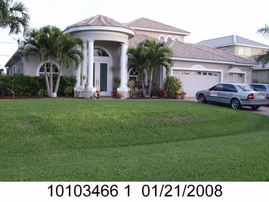 This home at 2807 SW 40th St., Cape Coral, recently