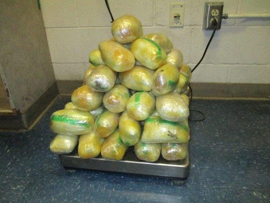 U.S. Customs and Border Protection officers seized