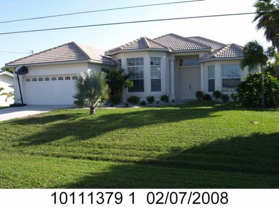 This home at 5341 Darby Court, Cape Coral, recently