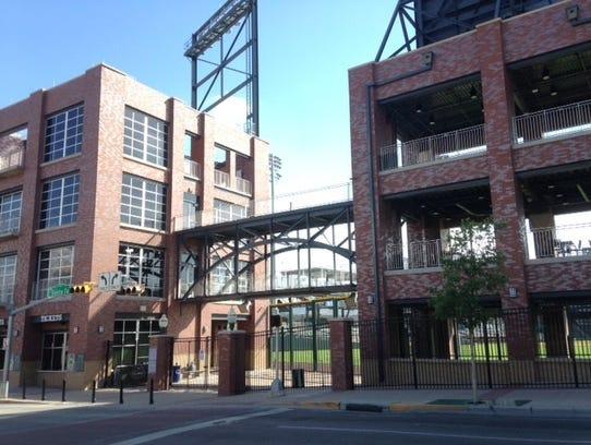 Southwest University Park won a merit award from the
