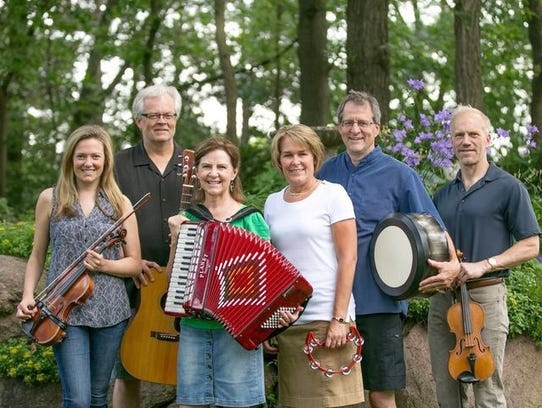 The Mill Creek Irish Band is among the local groups