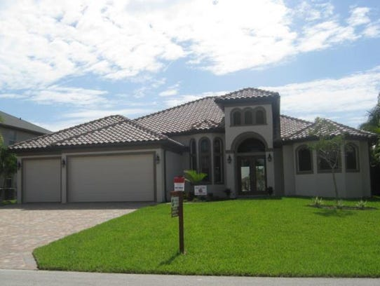 This home at 5231 SW 28th Place, Cape Coral, recently