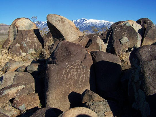 With over 21,000 petroglyph elements, the Three Rivers