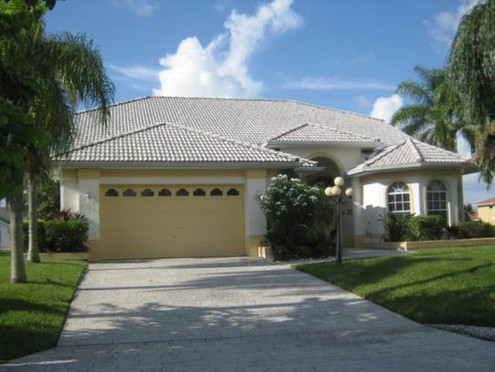 This home at 5340 SW 8th Court, Cape Coral, recently