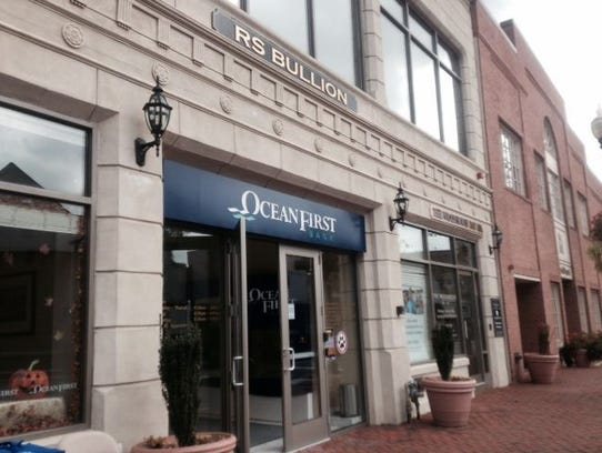 An OceanFirst Bank branch is pictured in Red Bank.