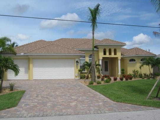 This home at 5248 SW 18th Ave., Cape  Coral, recently
