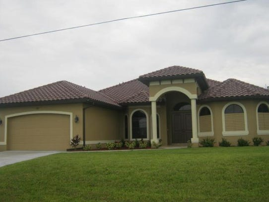This home at 4313 Gulfstream Parkway, Cape Coral, recently