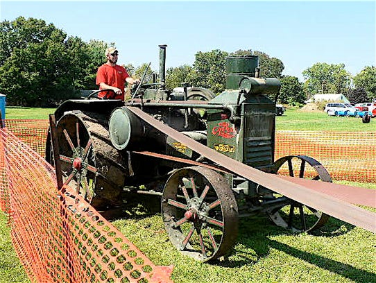 The 1929 Rumely Oil Pull tractor was one of only 245