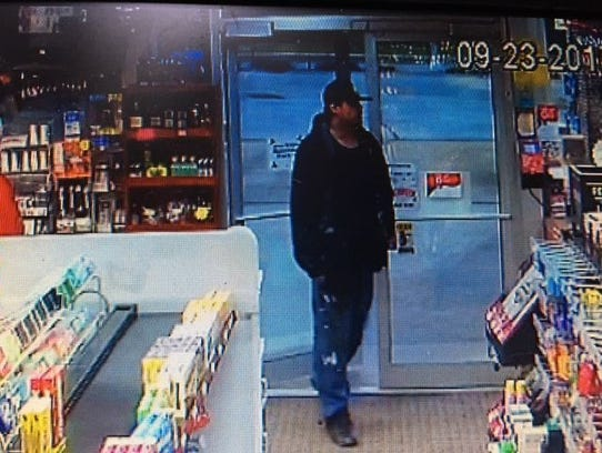 Muskego Police say they are searching for this suspect