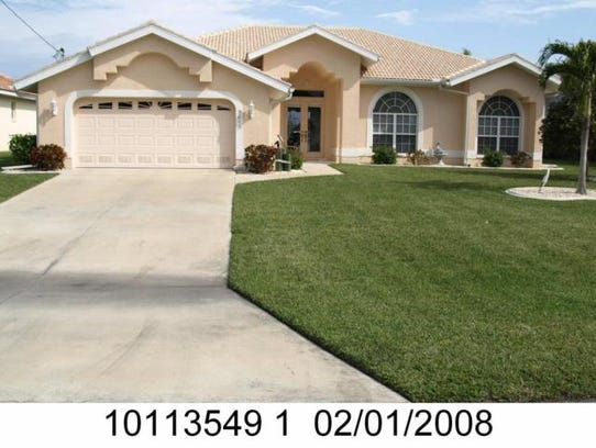 This home at 5011 SW 5th Place,  Cape Coral, recently