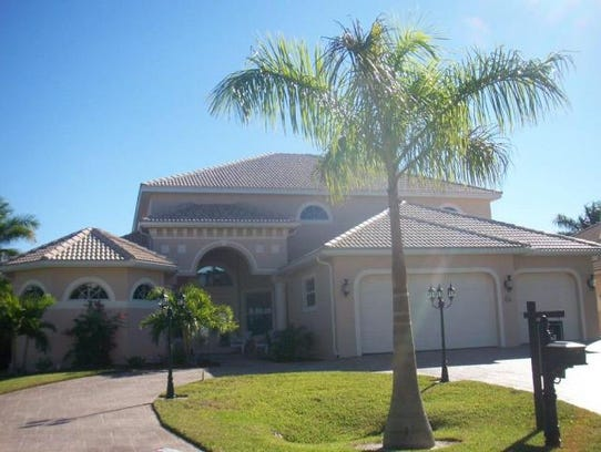 This home at 5327 SW 28th Place, Cape Coral, recently