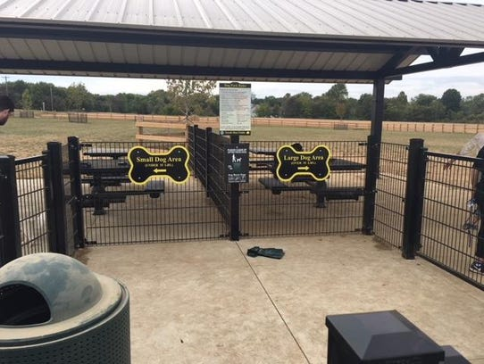 A new dog park opened recently in Moorestown at Swede