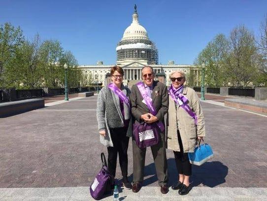 Advocates on Capitol Hill.