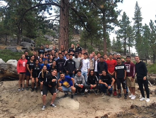 The Lake Tahoe Community College men's and women's